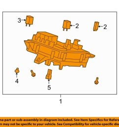 details about saturn gm oem 09 10 outlook 3 6l v6 fuse box fuse relay box 20934633 [ 1000 x 798 Pixel ]