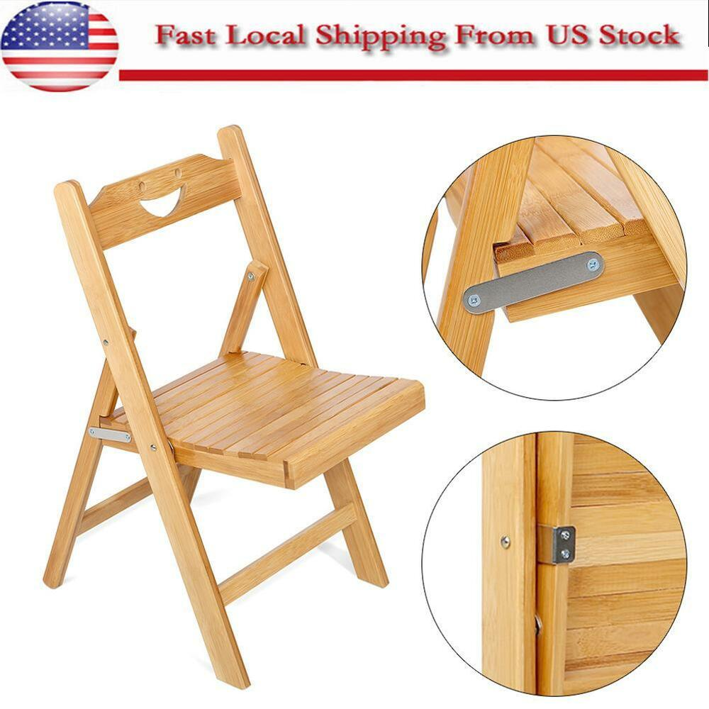 Cute Folding Chairs Folding Bamboo Chair Kids Children Play Chair Indoor Outdoor