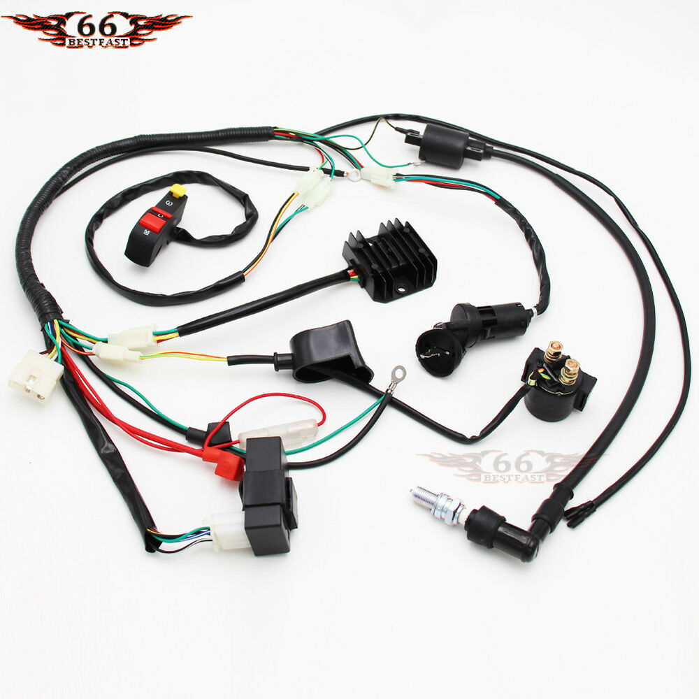 hight resolution of details about electrics wiring harness cdi coil chinese dirt bike 150cc 250cc zongshen loncin