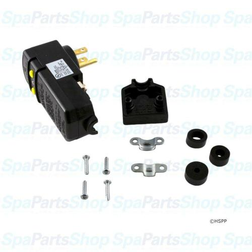 small resolution of details about spa hot tub gfci right angle power plug leviton 6593 120v 15a spst
