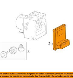 details about cadillac gm oem 08 09 cts anti lock brakes control module 25853512 [ 1000 x 798 Pixel ]