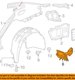 details about chevrolet gm oem 16 18 malibu fuel tank filler neck 23135978 [ 1000 x 798 Pixel ]