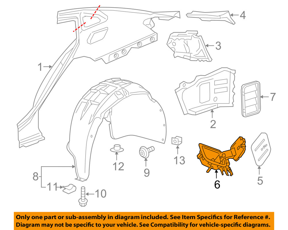 hight resolution of details about chevrolet gm oem 16 18 malibu fuel tank filler neck 23135978