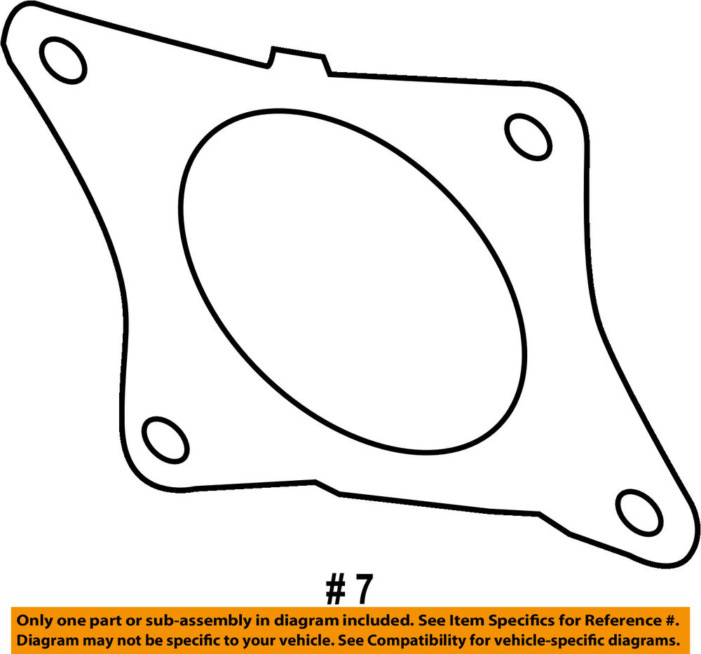 hight resolution of details about ram chrysler oem 13 18 3500 6 7l l6 exhaust filter gasket 68065844ab