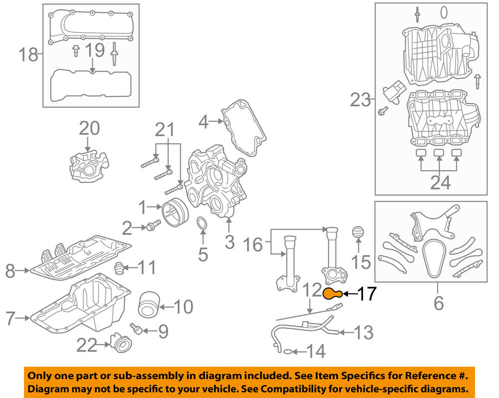 medium resolution of details about chrysler oem engine housing gasket 53020889ac