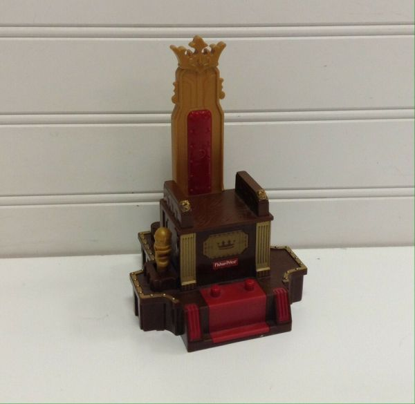 Fisher Imaginext Battle Plan Castle Throne Chair
