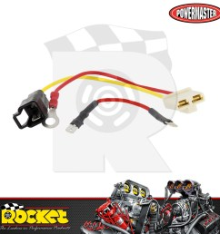 details about powermaster 10dn to 10si alternator wiring harness adapter pm150 [ 1000 x 1000 Pixel ]