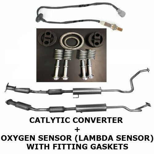 APPROVED CATALYTIC CONVERTER WITH OXYGEN SENSOR FOR TOYOTA
