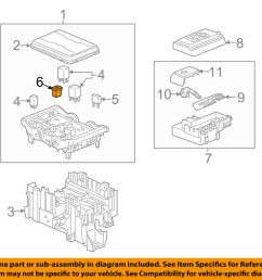 details about gm oem fuse relay fusible link 19119330 [ 1000 x 798 Pixel ]