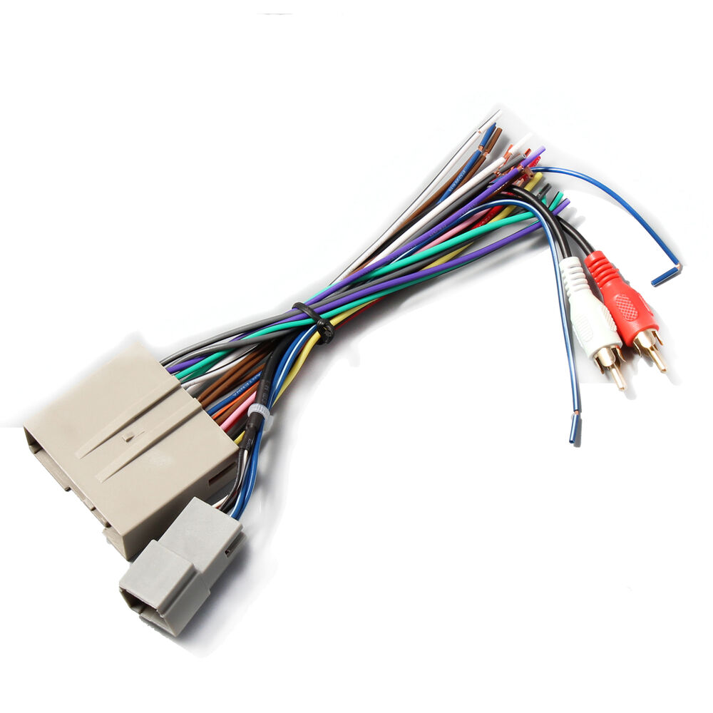 hight resolution of details about car stereo radio install wiring harness rca plug for select 2003 12 ford f 150
