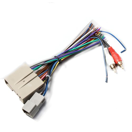 small resolution of details about car stereo radio install wiring harness rca plug for select 2003 12 ford f 150