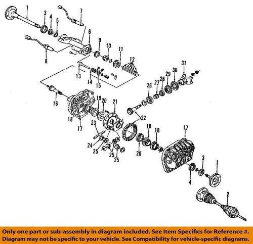 small resolution of details about gm oem front differential pinion yoke companion flange 88967027