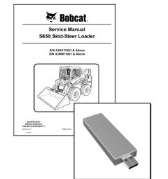 bobcat s650 skid steer workshop service manual usb stick download ebay [ 848 x 1000 Pixel ]