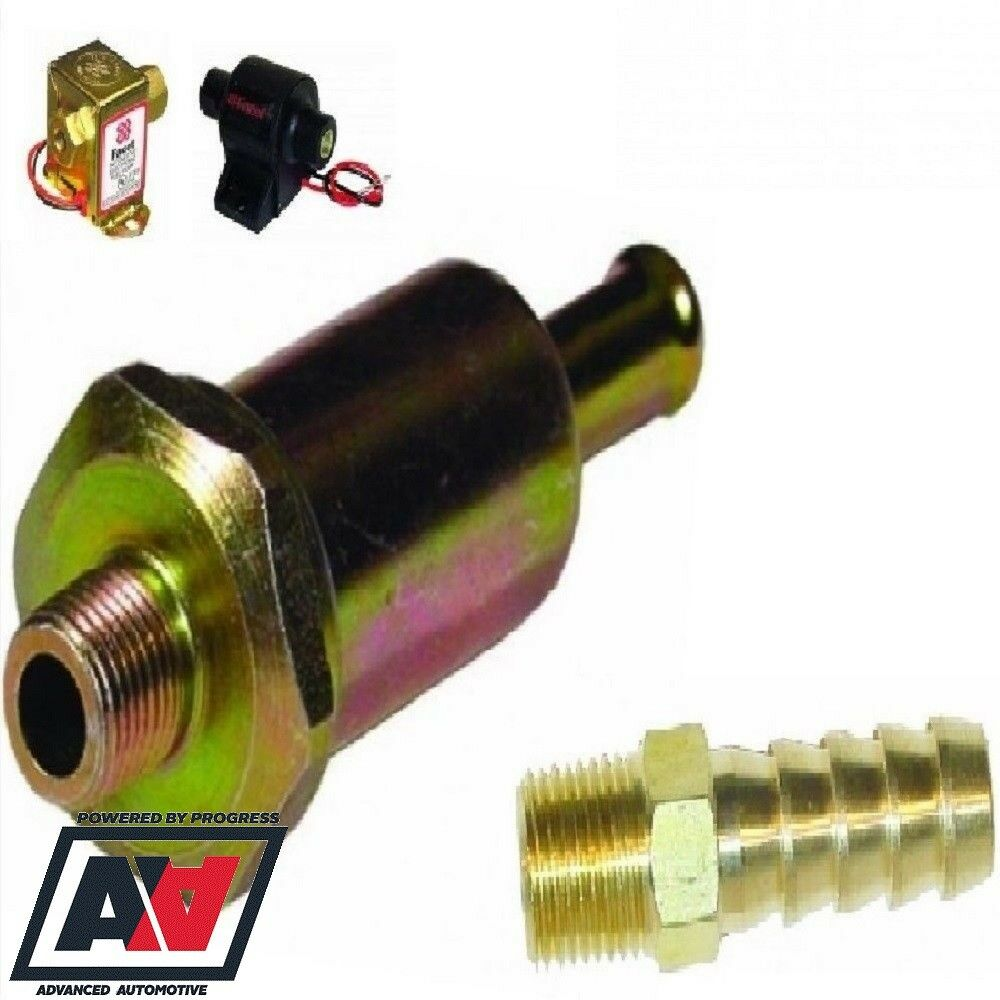 hight resolution of details about facet fuel pump filter union and hose adaptor fitting 8mm fuel line hose adv