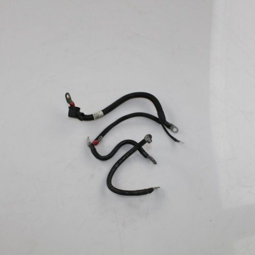 small resolution of details about 03 harley davidson road king anniversary efi flhri battery cables 70377 97