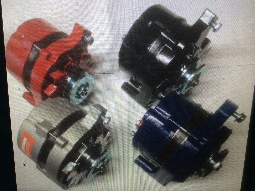 hight resolution of details about 1965 85 ford mustang 100 amp high output alternator