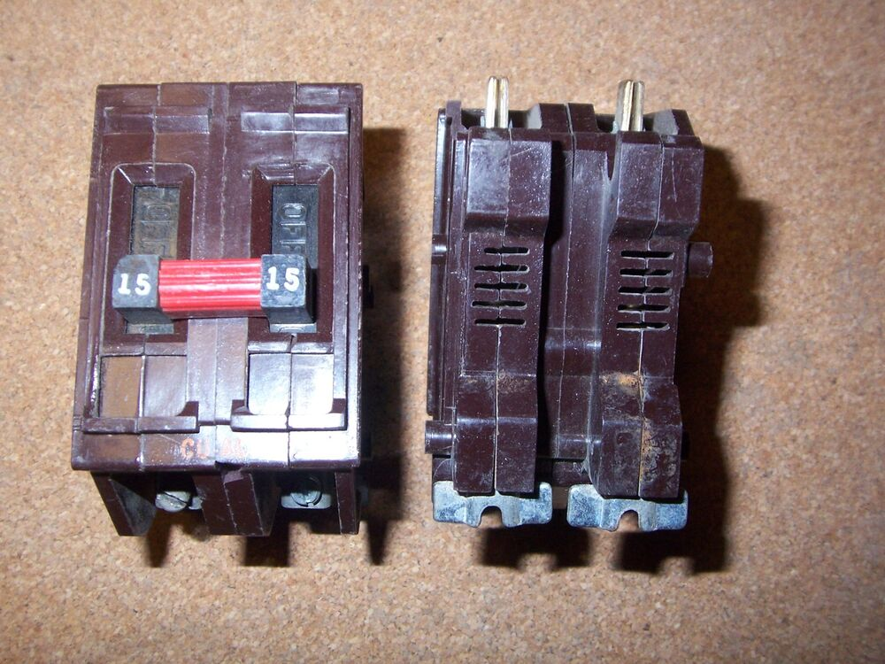 Old Fuse Box New Converted Circuit Breaker Box
