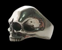Sterling Silver Keith Richards Skull Ring
