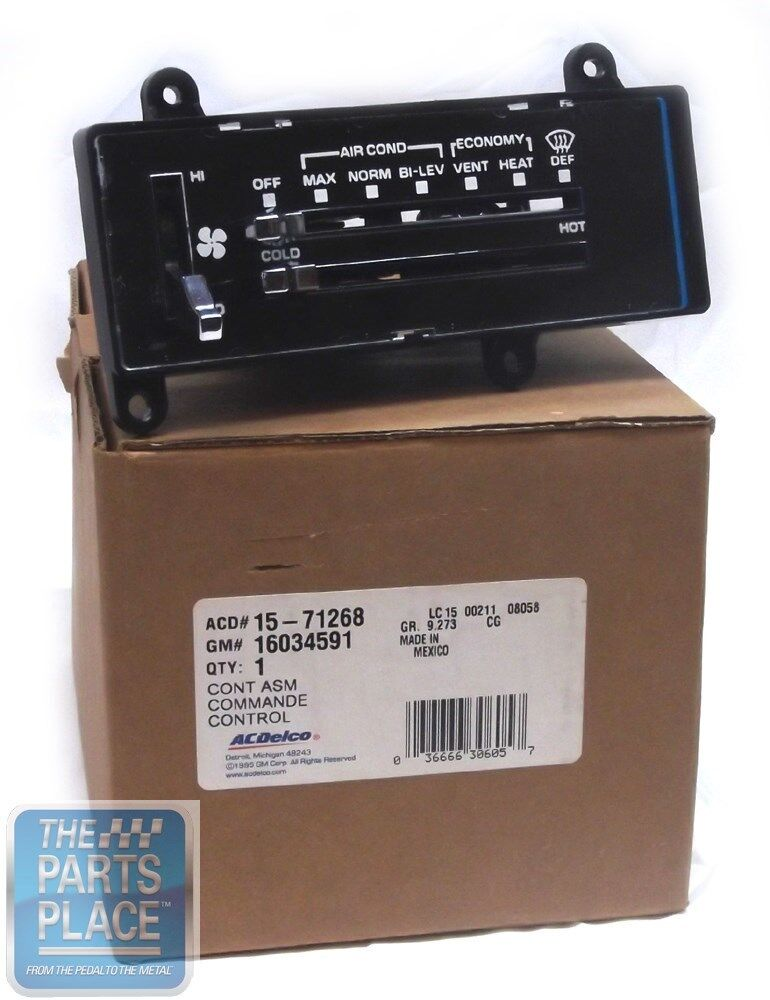 Box 1 Oldsmobile Heat Ac Control
