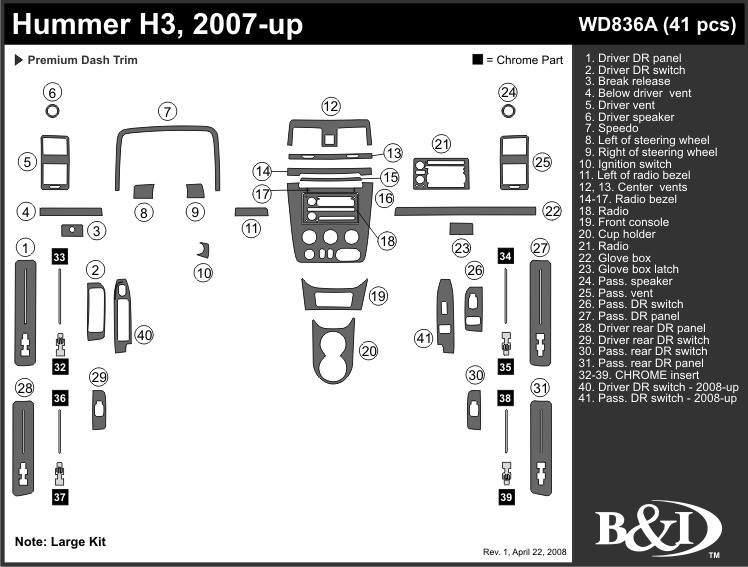 Service manual [How Remove Dash On A 2008 Hummer H3