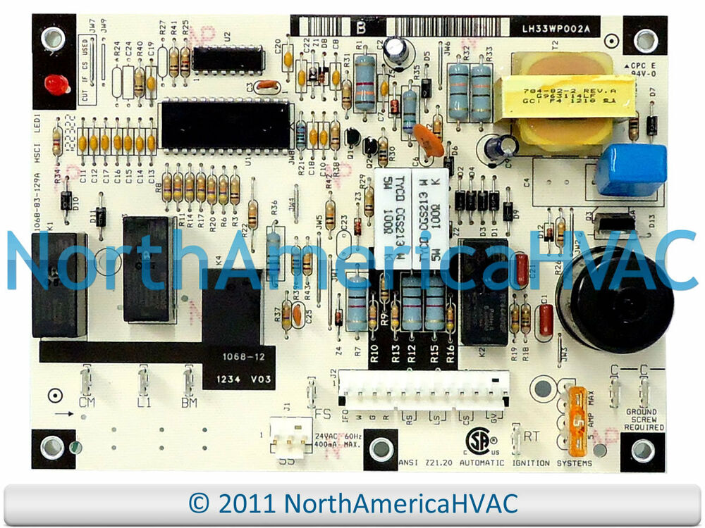 Mouse Wiring Diagram Oem Honeywell Furnace Control Board 1068 12 1068 83 129a