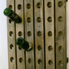Kitchen Wine Rack Remodel App Wood Riddling | Ebay