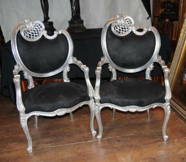 Antique French Rococo Chairs