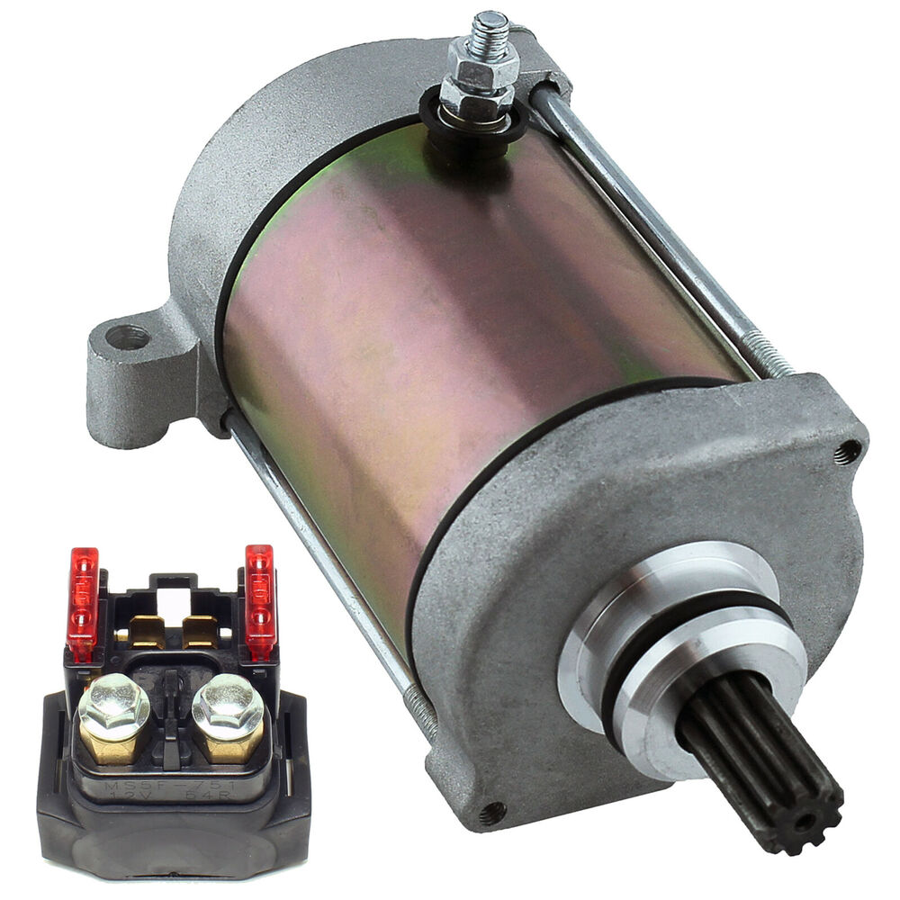 Starter Amp Relay Solenoid Fits Yamaha Grizzly 660 Yfm660
