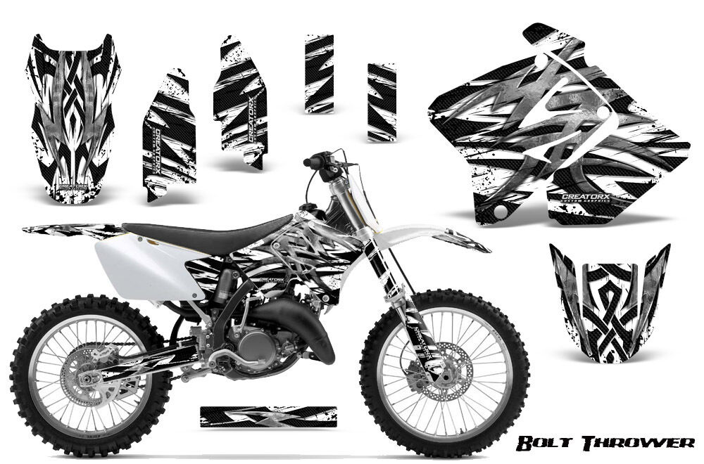 SUZUKI RM 125 250 Graphics Kit 2001-2009 CREATORX DECALS