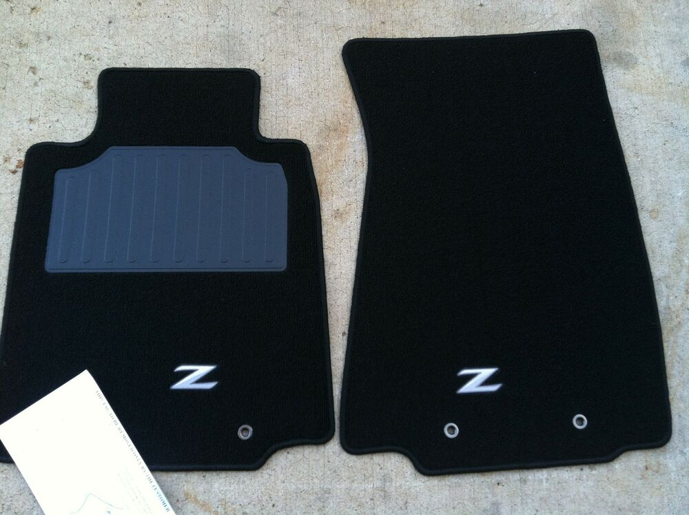 NEW OEM NISSAN CARPET FLOOR MATS 370Z 20092012  2 PIECE