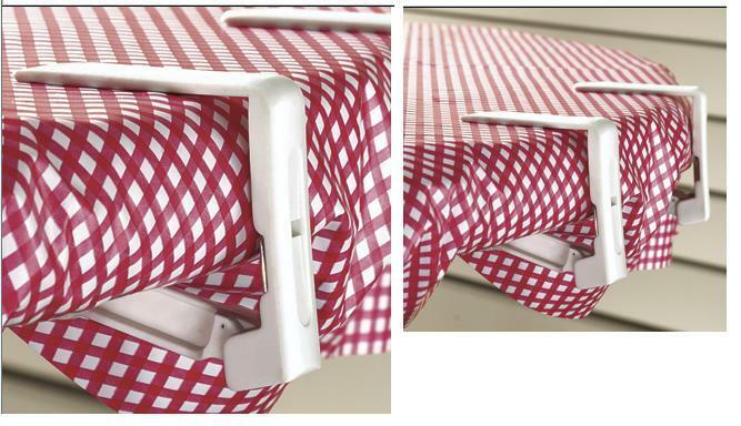 Tablecloth Clips Set Of 4 Spring Loaded Clips Cloth On