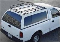 Truck Cap Ladder Rack or Hard Tonneau Rack fits most