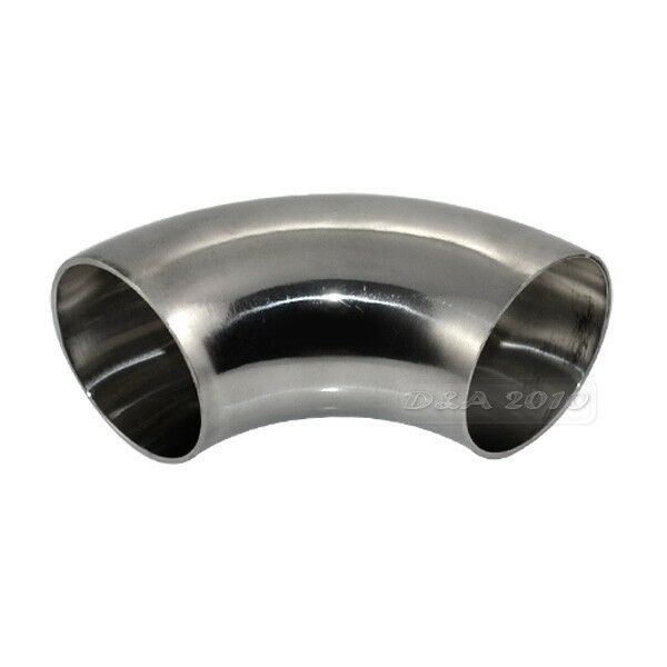45 45mm 1.75'' Sanitary Weld Elbow Pipe Fitting 90 Degree