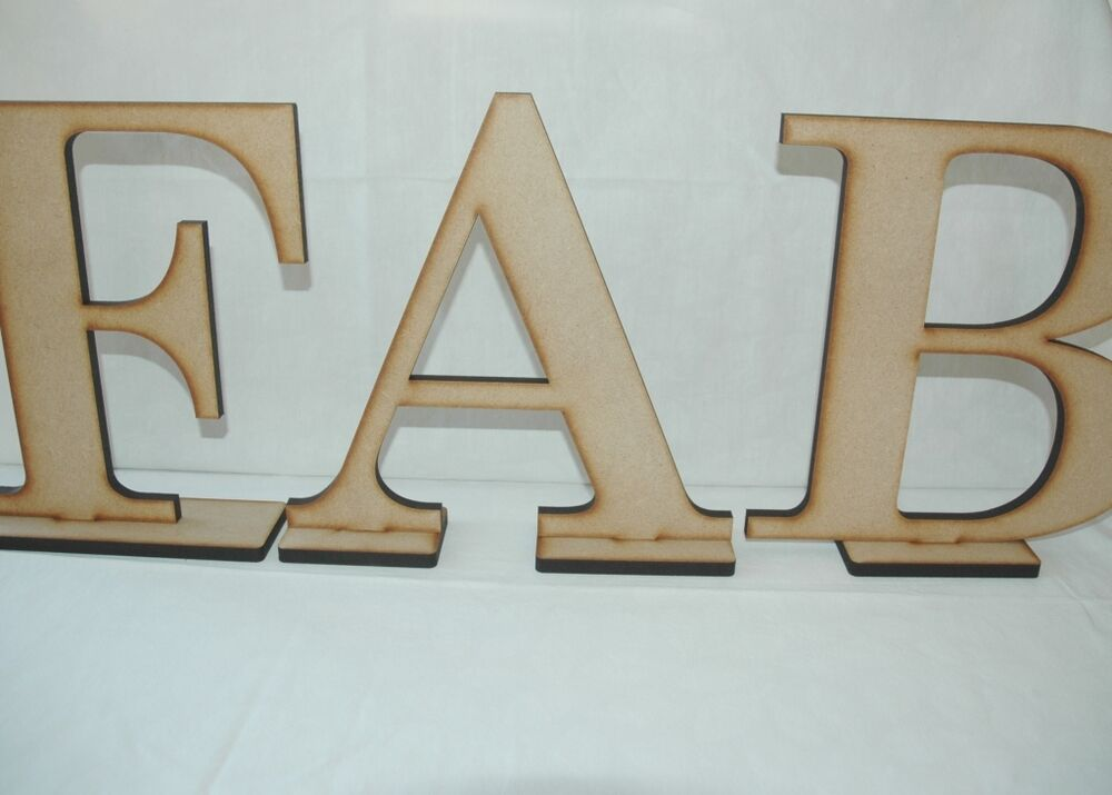 Large MDF Free Standing Letters, MR & MRS, JUST MARRIED