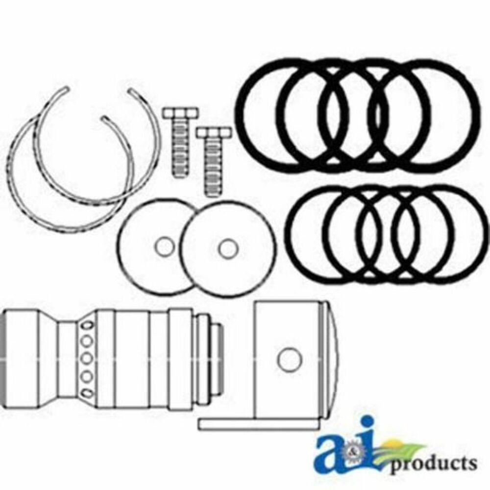1272964C94 Conversion Kit, IH To ISO Couplers Fits Case IH