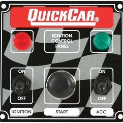 Quickcar Switch Panel Wiring Diagram Ecm Crane Quick Car Ignition Control Ignition, Starter Button, Access Usmts | Ebay