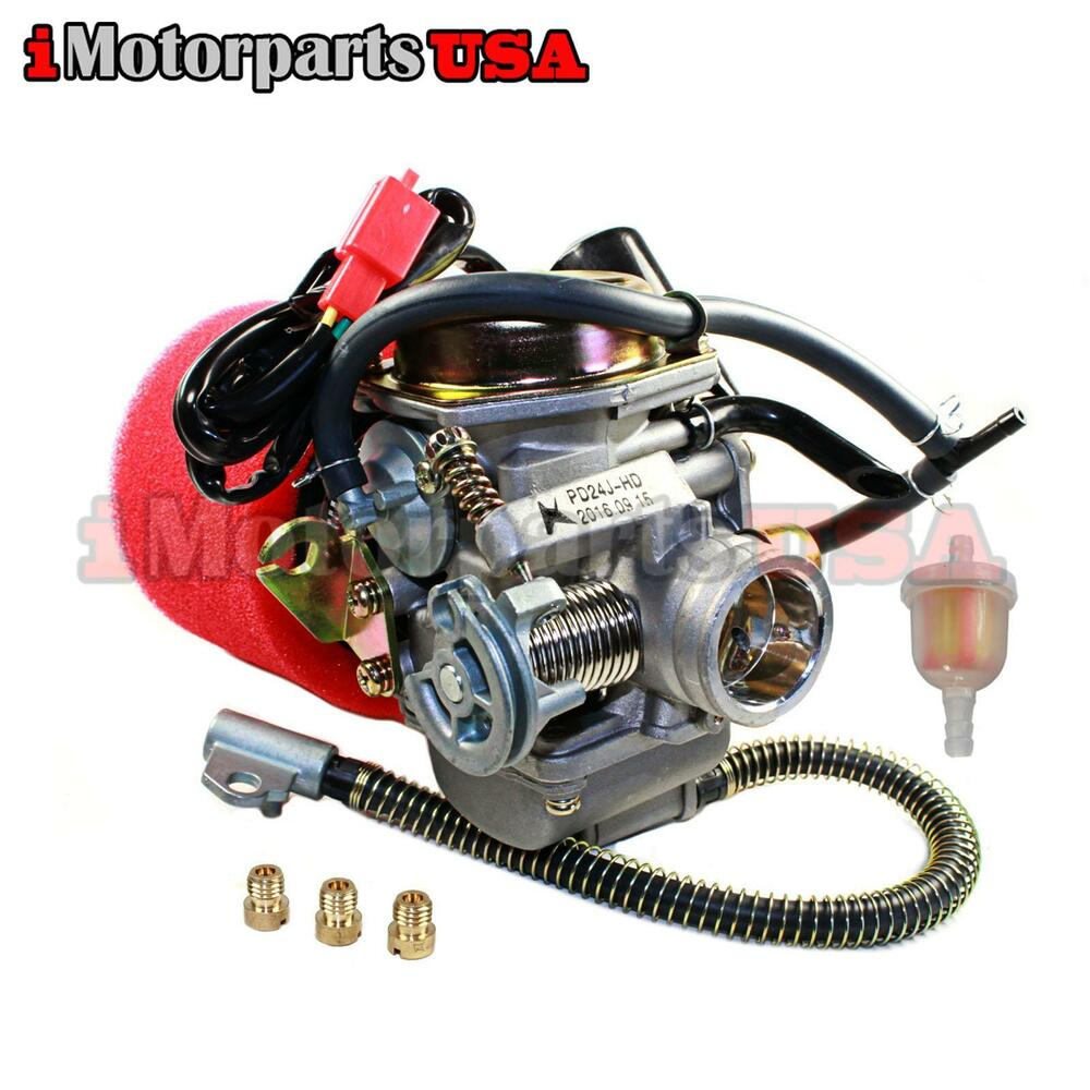 hight resolution of  roketa 150 engine diagram performance carburetor w 2 stage filter yerf dog