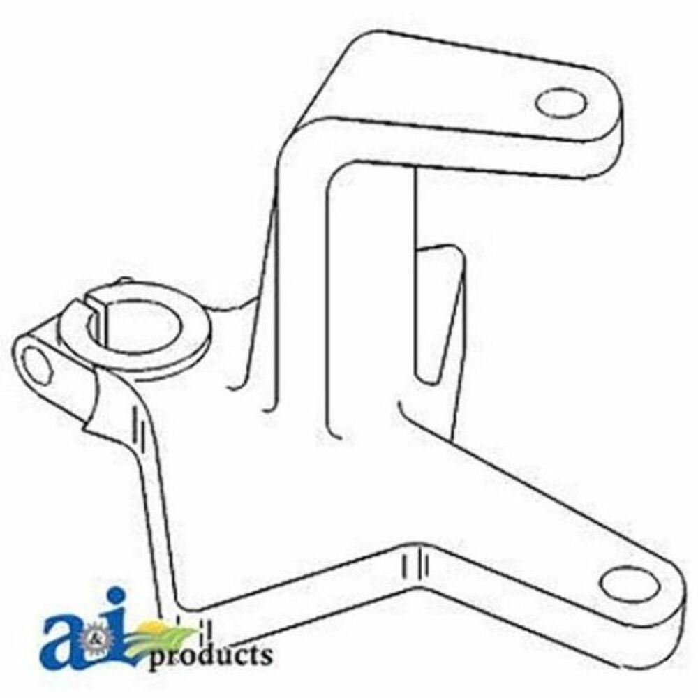 160289A Steering Arm, Center Fits White/Oliver/Mpl Moline