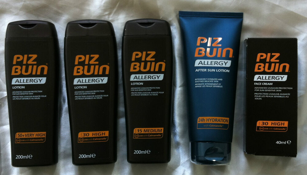 Image Result For Piz Buin Allergy Prickly Heat