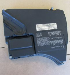 bmw e38 740i 740il engine compartment fuse box relay cover fusebox 12901747665 ebay [ 1000 x 1000 Pixel ]