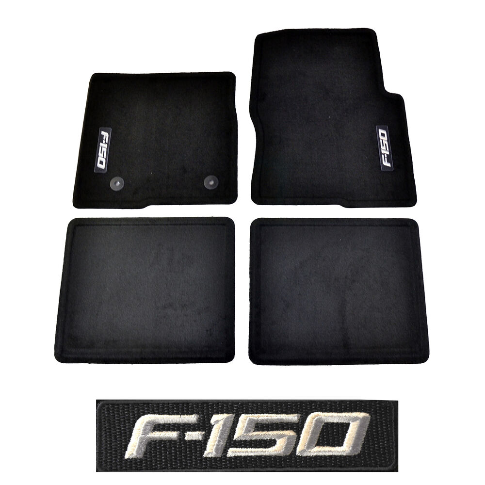 2012 Ford f 150 rubber floor mats