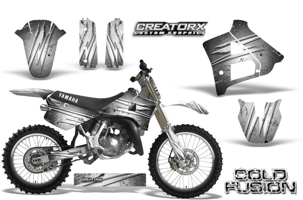 YAMAHA YZ125 YZ 125 2 STROKE 1991-1992 GRAPHICS KIT