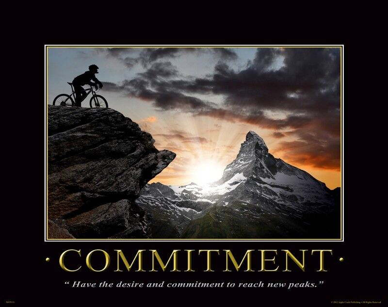 Daily Inspirational Quotes Wallpaper Bicycle Motivational Poster Art Print Mountain Road Bike