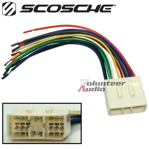 small resolution of car stereo cd player wiring harness wire aftermarket radio gm speaker harness harley davidson rear speaker wiring harness