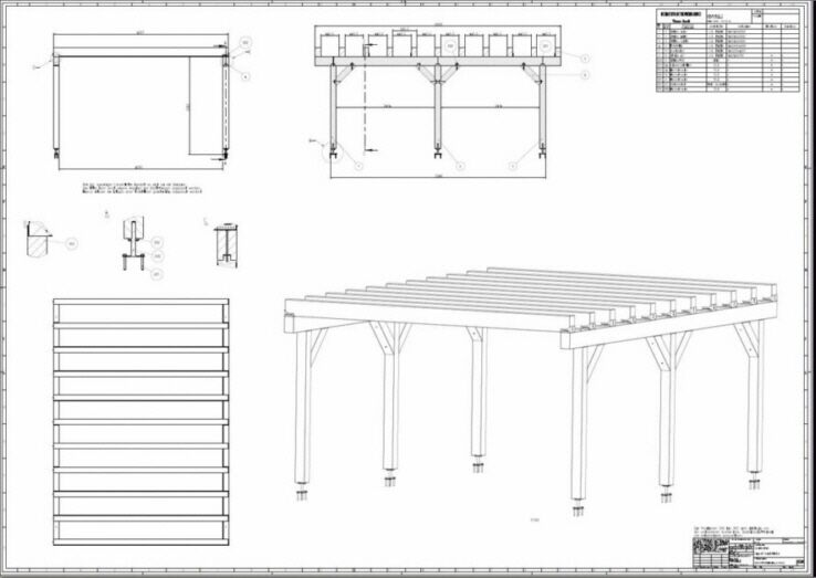Schematic Manual Flat roofs Carport Flat Roof Conservatory