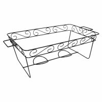 Decorative Wire Chafing Rack Black 12 Pk - Brand New Item ...