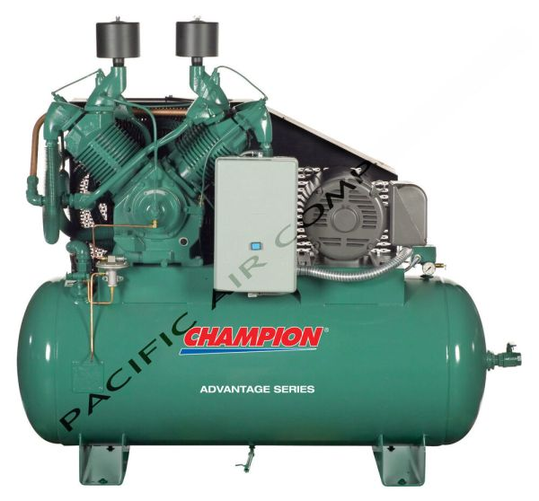 Hp Air Compressor 100 Cfm 120 Gallon Tank Hra25-12 Full Package Acac Atd