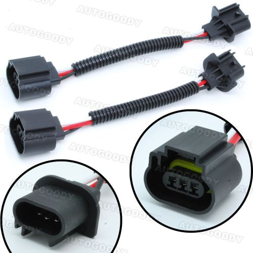 small resolution of h13 9008 wiring harness socket connector plug extension headlight connector wiring 3 pin headlight connector wiring