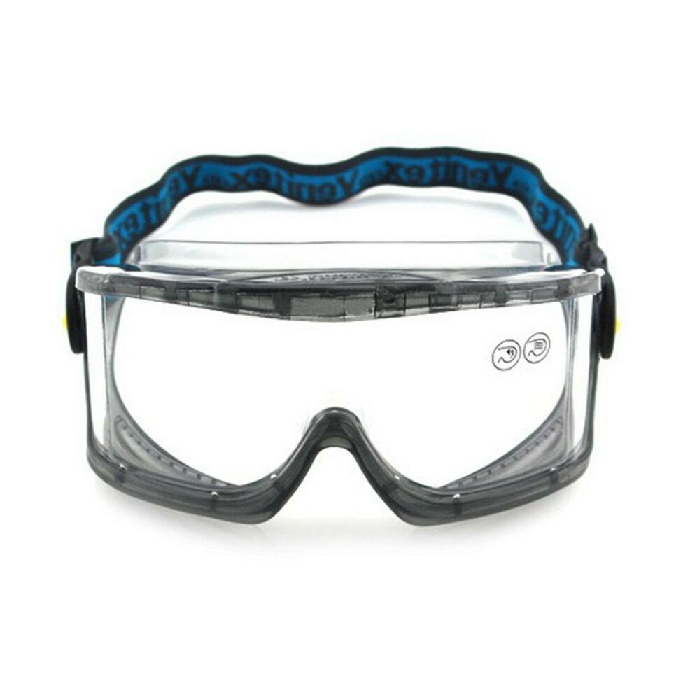 (1)Protective Eyewear Goggles Anti-Chemical Safety/Labour