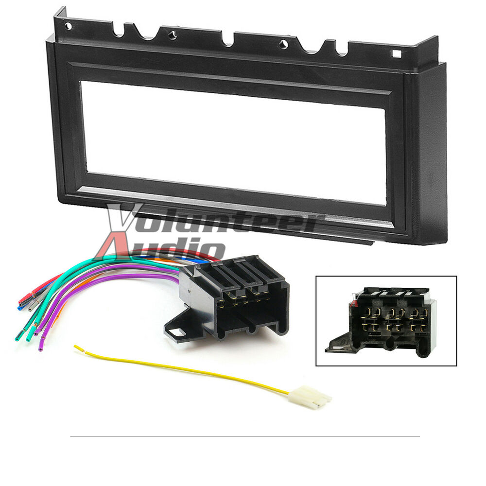 Car Radio Stereo Cd Player Dash Install Mounting Kit Panel Wiring